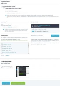 Imagify settings to speed up your wordpress website