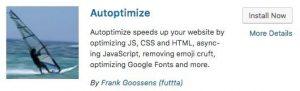 Autoptimize in the WordPress Repository